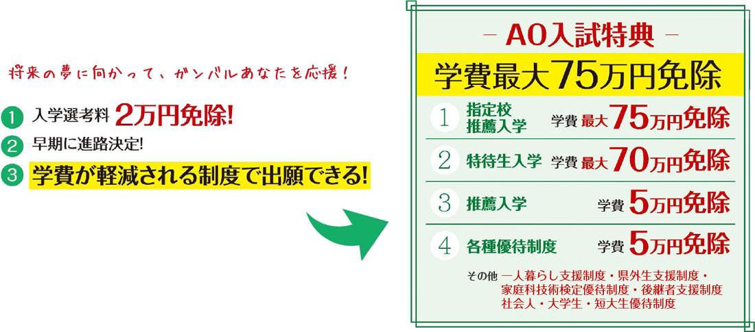 AO入試特典